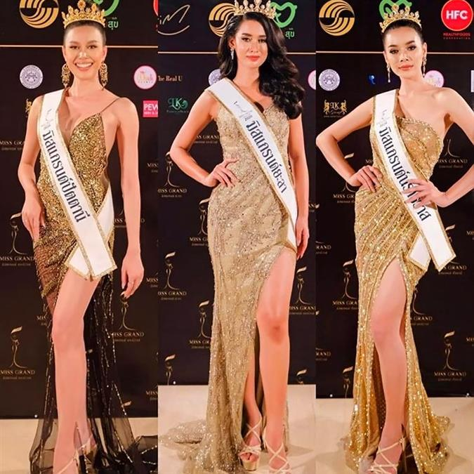 Naphatlada Dokphuang crowned Miss Grand Pattani 2020 for Miss Grand Thailand 2020