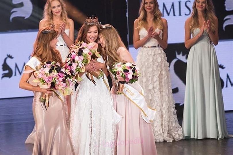 Tereza Krivánková crowned Ceská Miss Earth2018