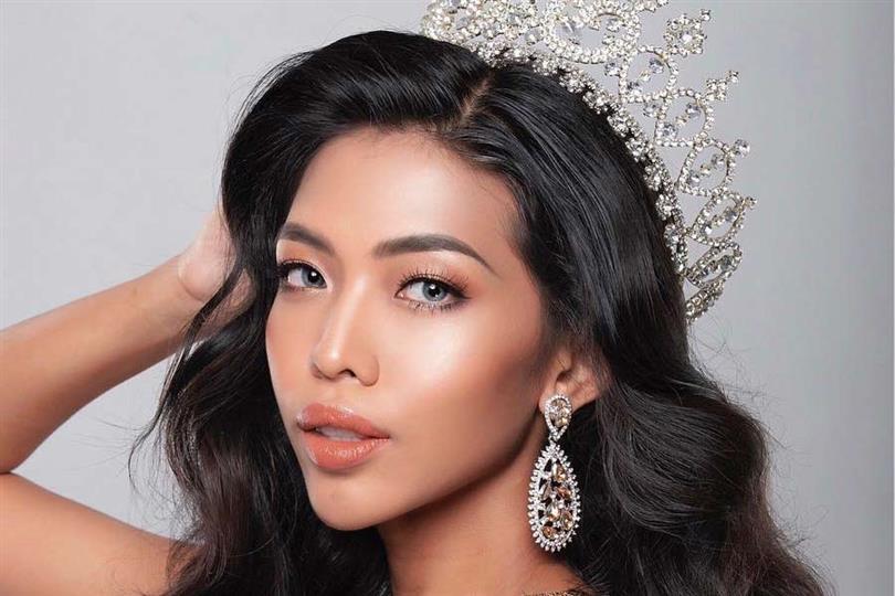 Hmwe Thet rising as a potential winner of Miss Universe Myanmar 2019