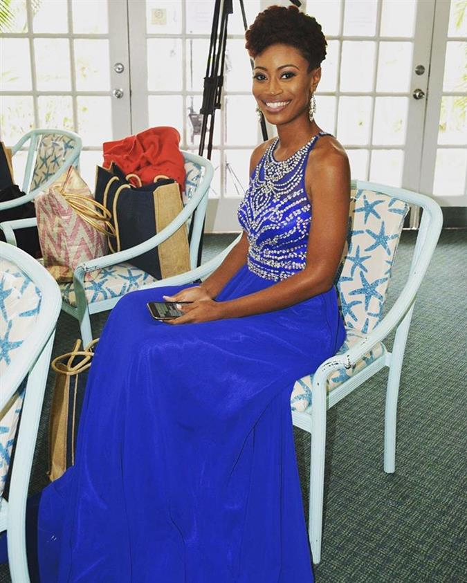 Miss Bahamas 2018 Finalist Serena Greene