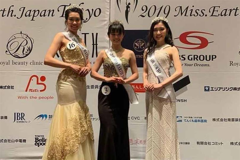 Marie Tada crowned Miss Earth Japan Tokyo 2019 for Miss Earth Japan 2019