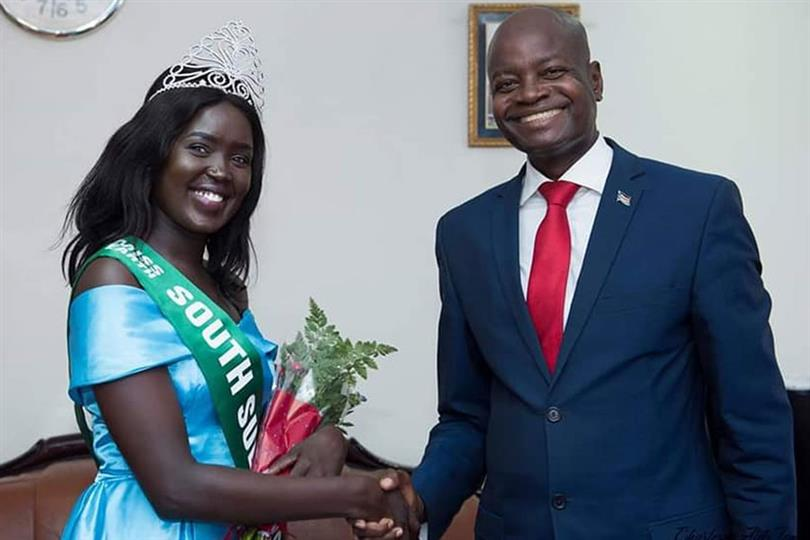 Meet Asara Justice Bullen Miss Earth South Sudan 2019 for Miss Earth 2019