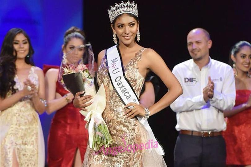 Yarith Ceròn crowned Mexicana Universal Oaxaca 2017 for Mexicana Universal 2018