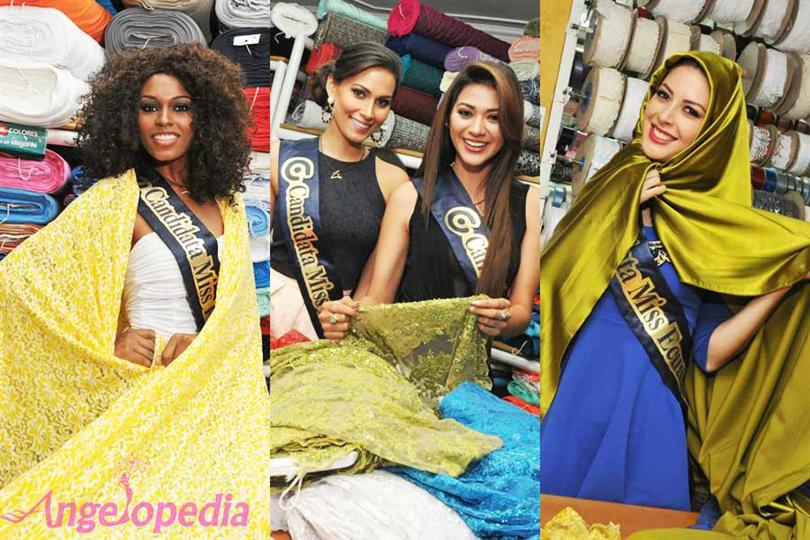 Miss Ecuador 2015 contestants at MIL Colores