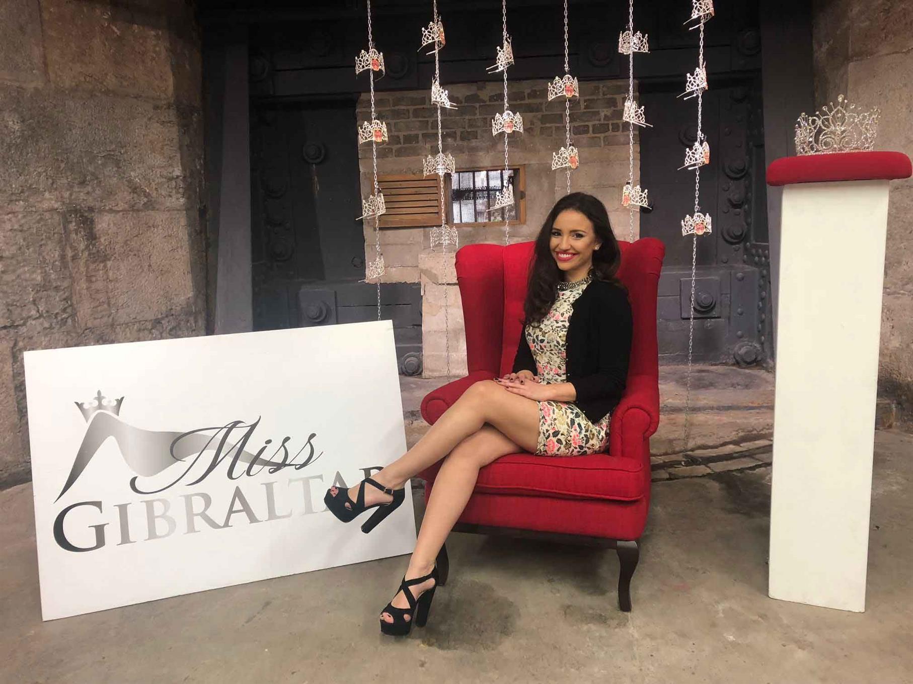 Miss Gibraltar 2018 finalist Star Farrugia