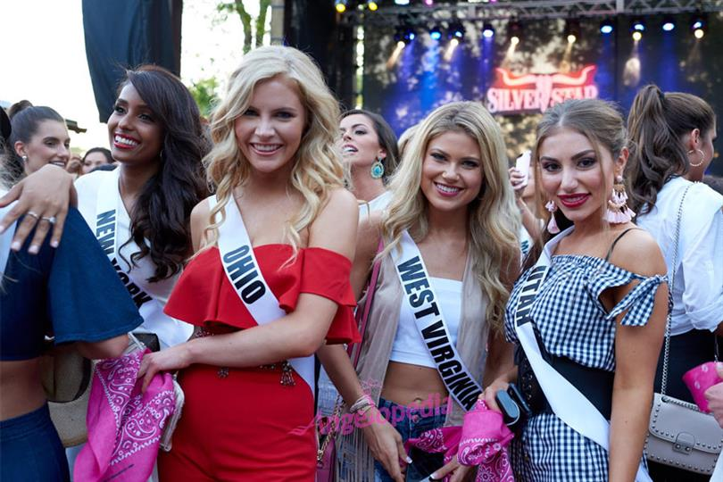 Miss USA 2018 Voting Lines Open