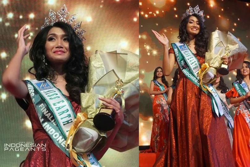 Ratu Vashti Annisa crowned Miss Earth Indonesia 2018