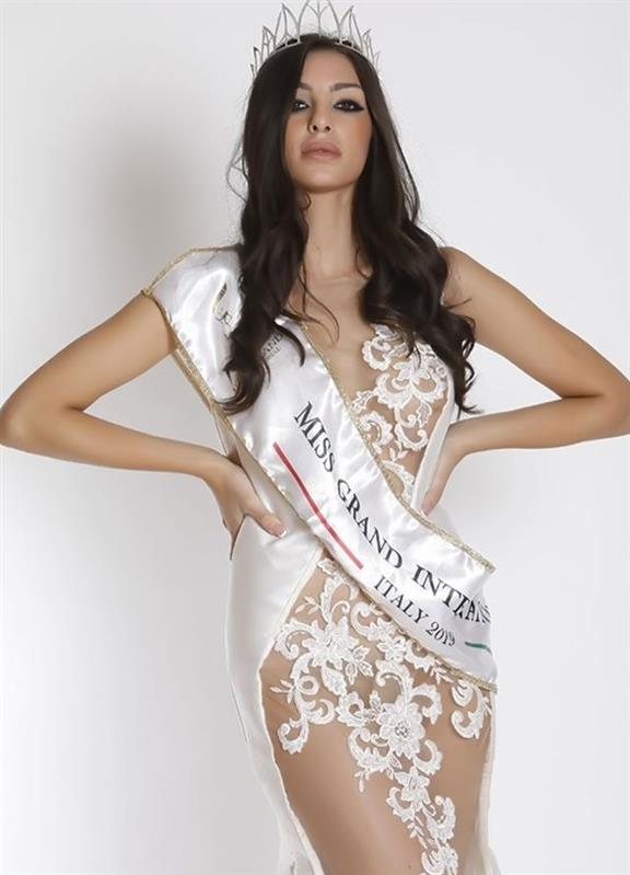 Meet the newly crowned Miss Grand Italy 2019 Mirea Sorrentino