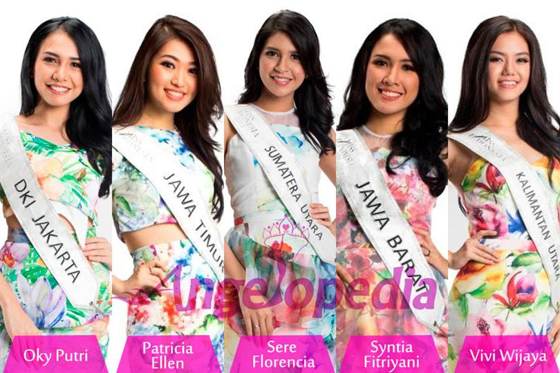 Miss Indonesia 2015 Top 10 Hot Picks by Angelopedia