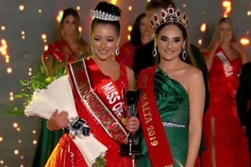 Amanda Bezzina Second Runner-up Miss Malta 2020