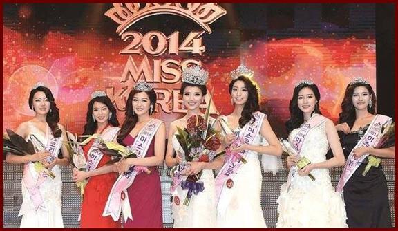 Miss Korea 2014 Winners
