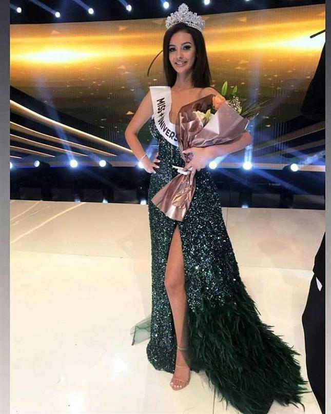 Fatbardha Hoxha is Miss Universe Kosovo 2019