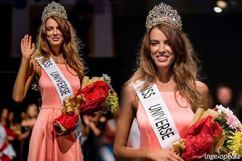 Ioana Mihalache crowned Miss Universe Romania 2017