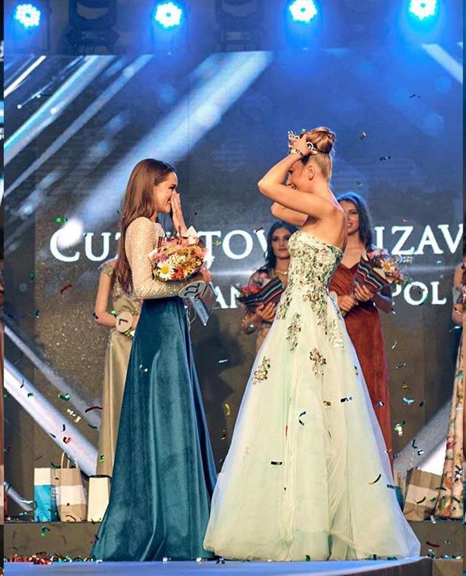 Elizaveta Kuznitova crowned Miss Moldova 2019