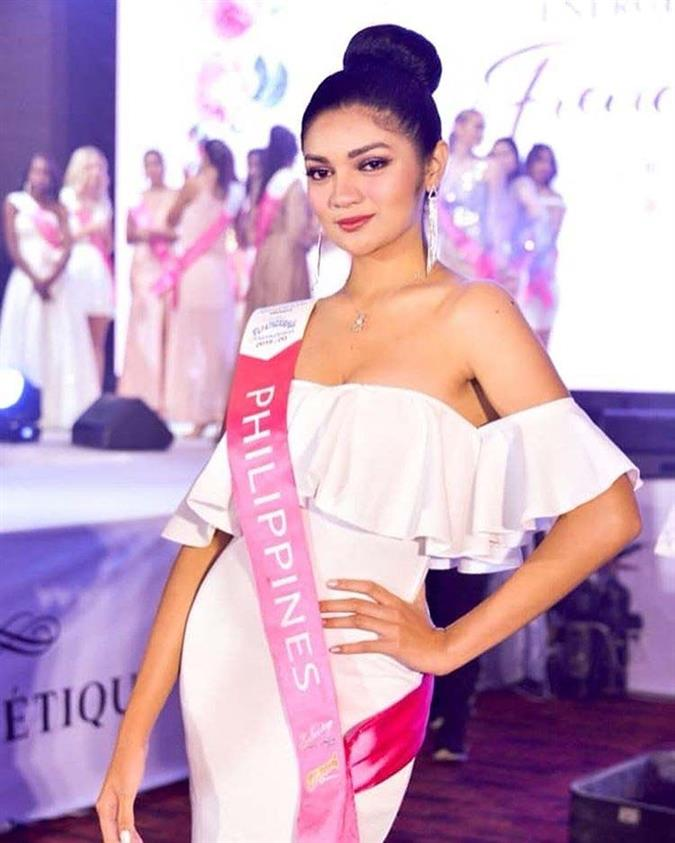 Filipina Cyrille Payumo stuns with her fashion game at Miss Tourism International Philippines 2019