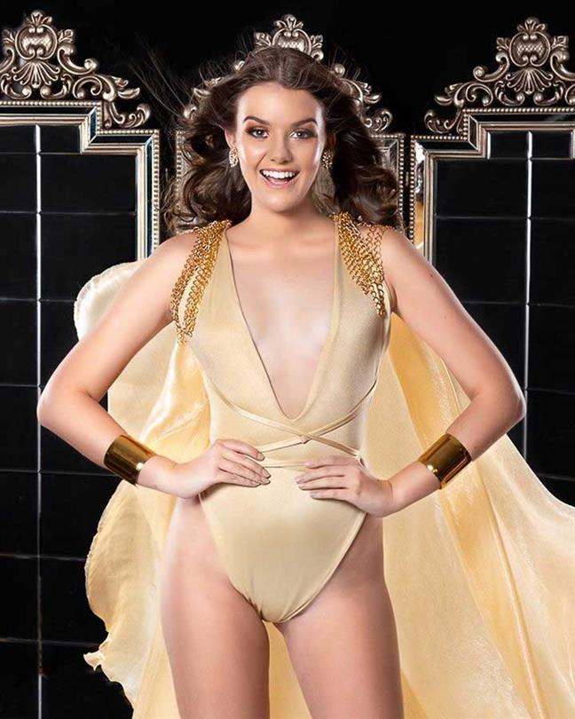 Juliaa Rios Finalist Miss Grand Paraguay 2020