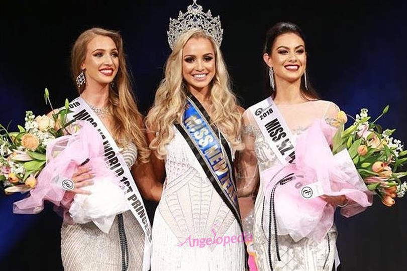 Hayley Robinson is the new Miss Grand International NZ 2018