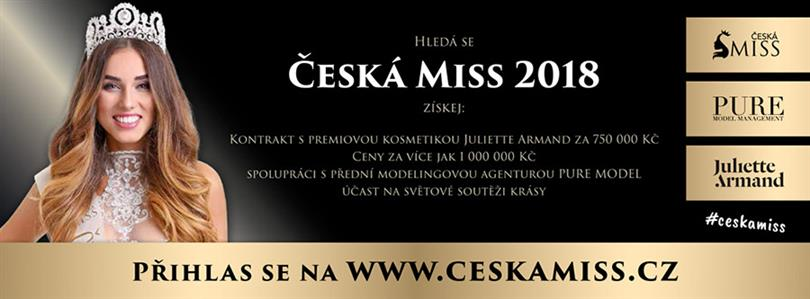 Search for Czech Miss 2018 is on