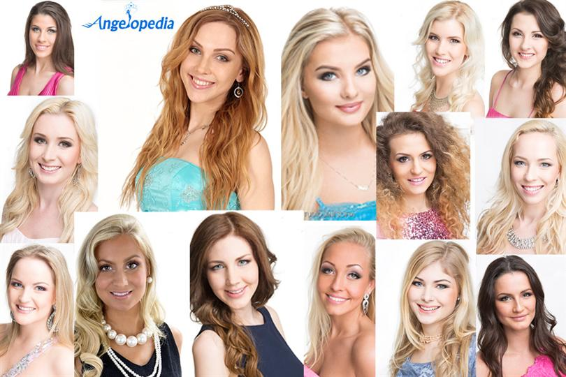Miss World Sweden 2015 contestants cadidates finalists