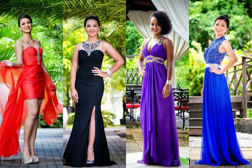 Jaleesa Pigot crowned as Miss Tropical Beauties Suriname 2016