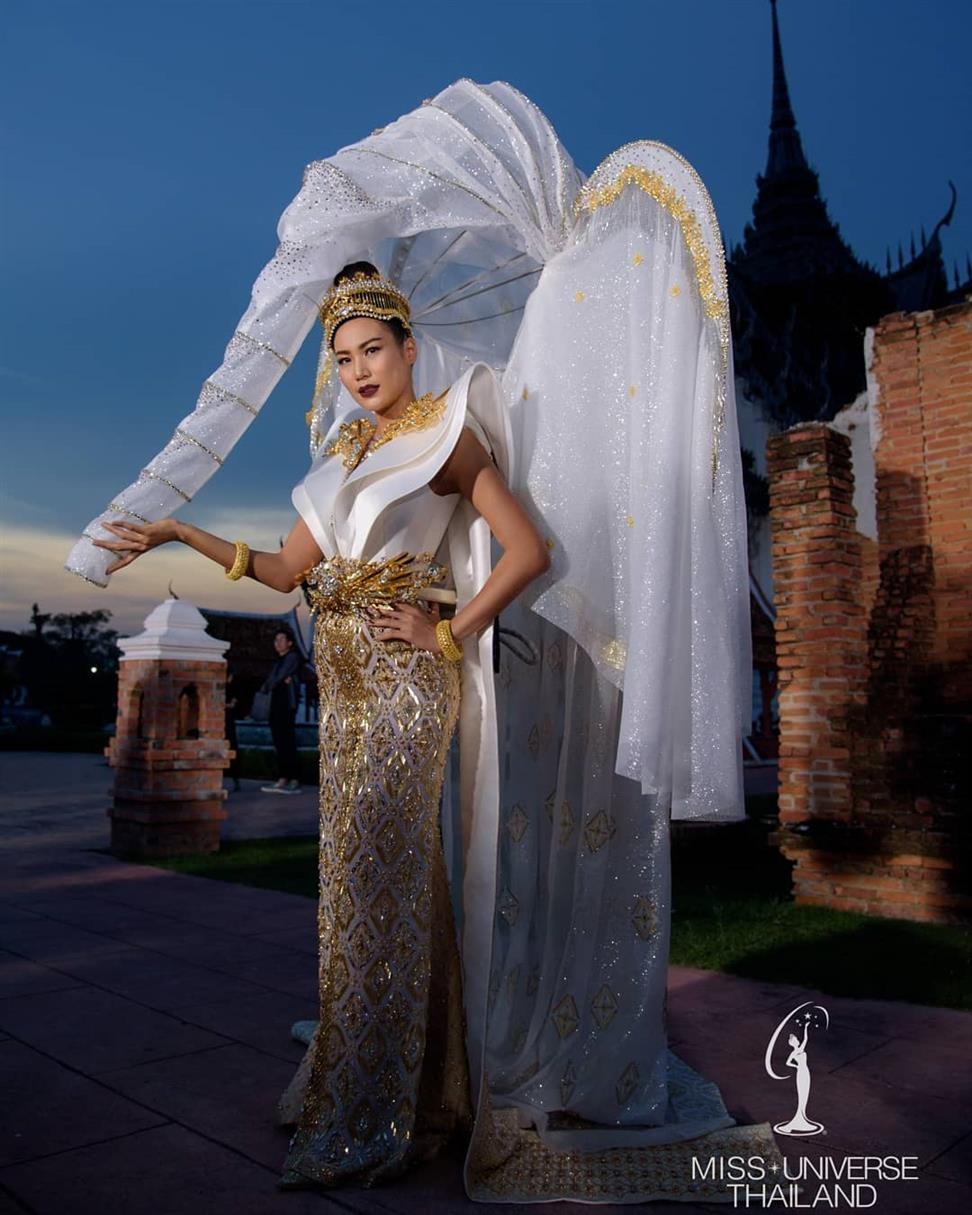 Ning Sophida unveils her National Costume for Miss Universe 2018