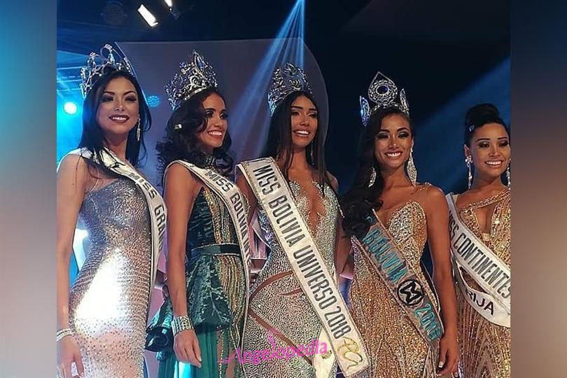 Joyce Prado crowned Miss Bolivia 2018