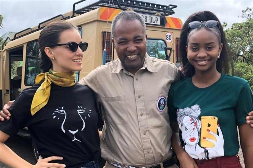 Miss World 2019 BWAP inauguration of the first compostable sanitary pad machine in Tanzania