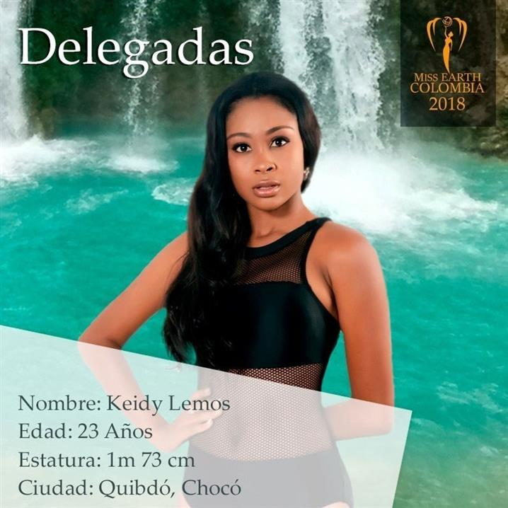 Keidy Lemos – Twelfth Delegate of Miss Earth Colombia 2018