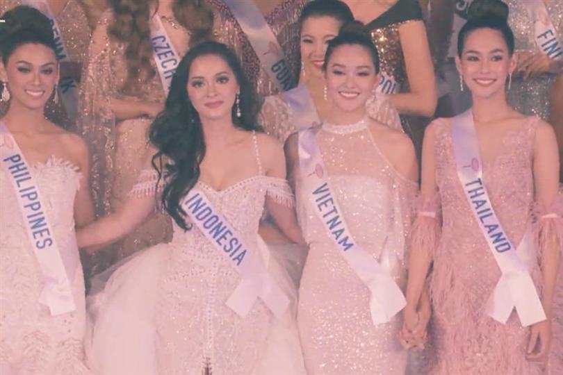 Tetrad of Asian beauties grace the final round of Miss International 2019