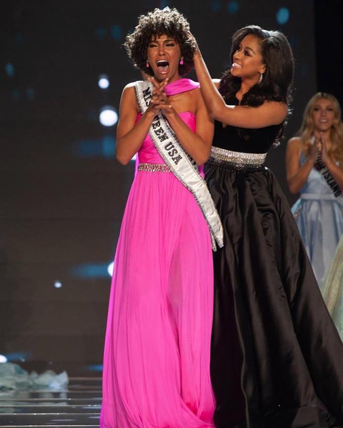 Kaliegh Garris of Connecticut crowned Miss Teen USA 2019
