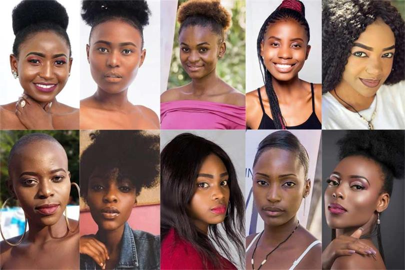 Miss Earth Zambia 2019 Meet the Finalists