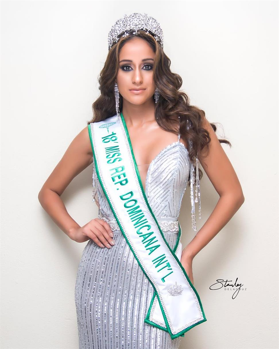 Stephanie Bustamante is the new Miss International Dominican Republic 2018