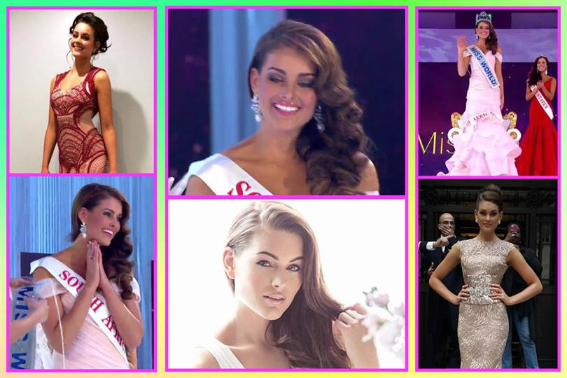 Miss World 2014 winner Rolene Strauss