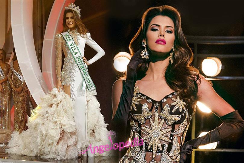 Mariem Claret Velazco García crowned Miss International Venezuela 2018