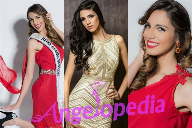 Melgarejo Gonzale of Paraguay hopes for the title of Miss Universe 2016