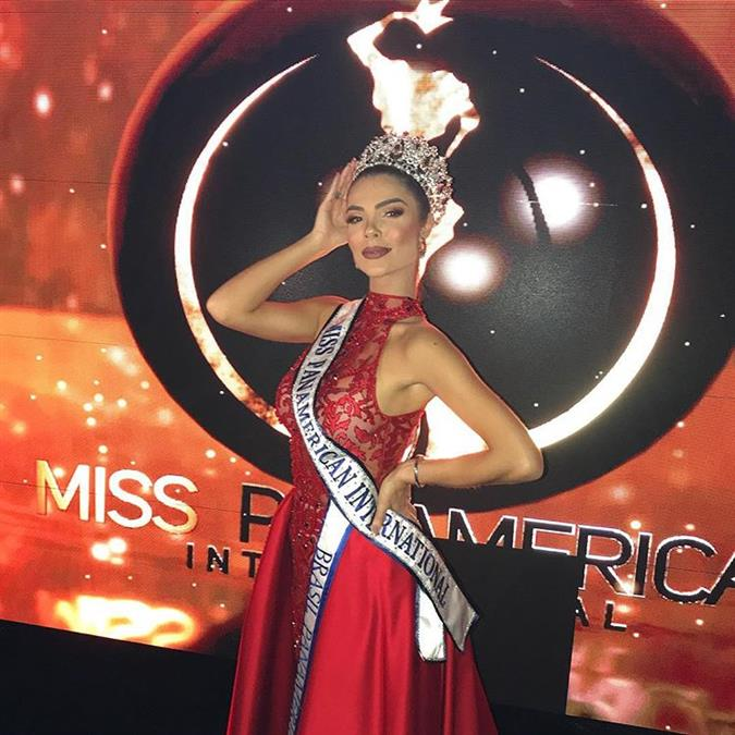 Francielly Ouriques crowned Miss Panamerican International 2018