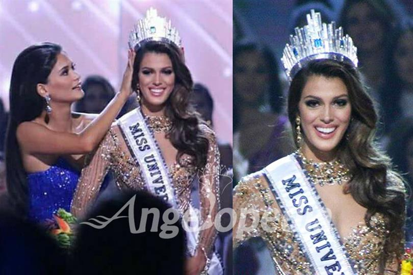 Iris Mittenaere of France crowned as Miss Universe 2016