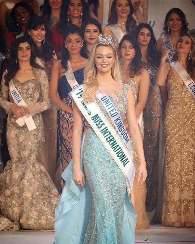 Harriotte Lane becomes highest-placing beauty queen in the history of north-east UK