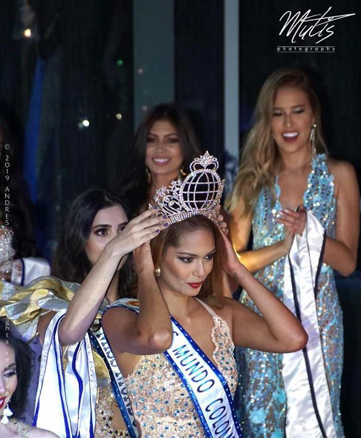 Sara Franco crowned Miss World Colombia 2019