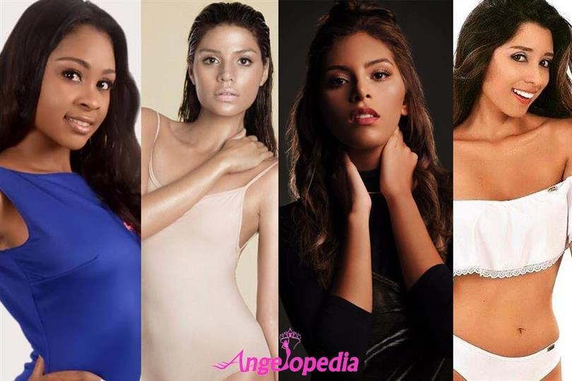 Miss Earth Colombia 2018 Meet the Contestants