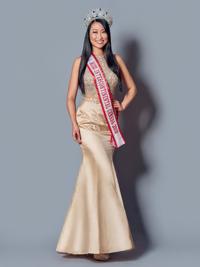 Alice Li Miss Intercontinental Canada 2018, our favourite for Miss Intercontinental 2018