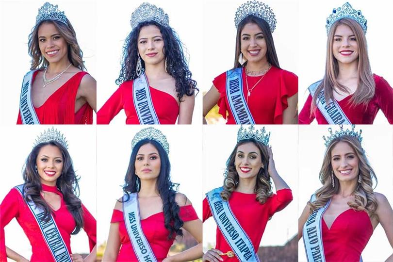 Reinas de Belleza del Paraguay 2019 Meet the Delegates