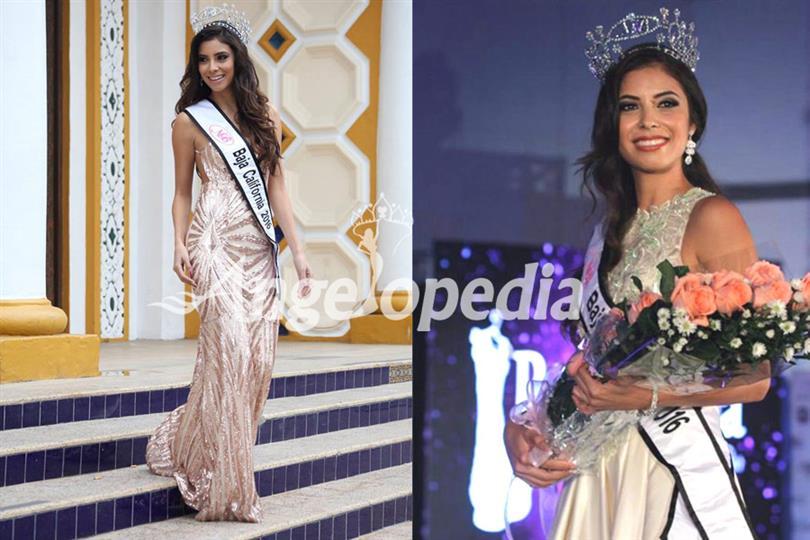 Nancy Verónica Moeller Guerrero crowned as Nuestra Belleza Tijuana 2016