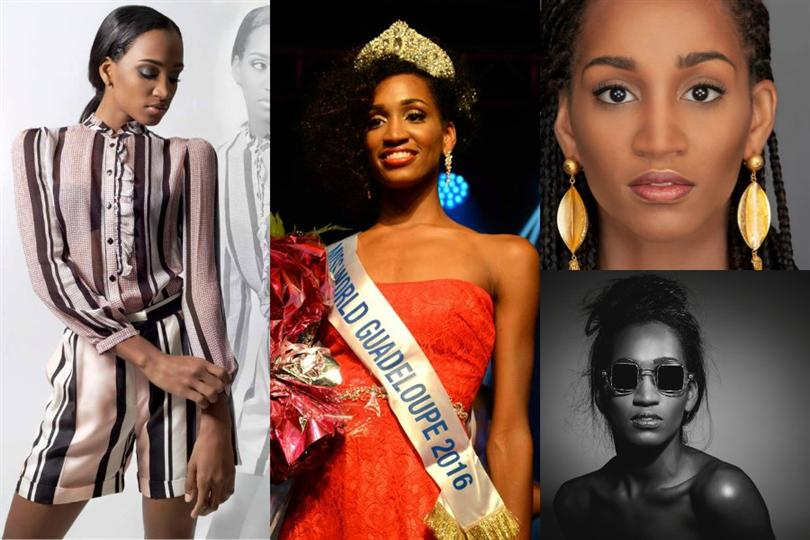 Magalie Adelson crowned as Miss World Guadeloupe 2016