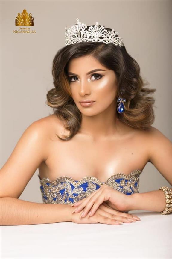 Katty Vanessa Bello Luna is Miss United Continents Nicaragua 2019