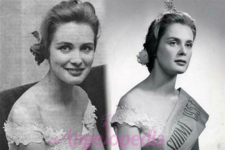 Miss World 1957 Marita Lindahl from Finland is no more