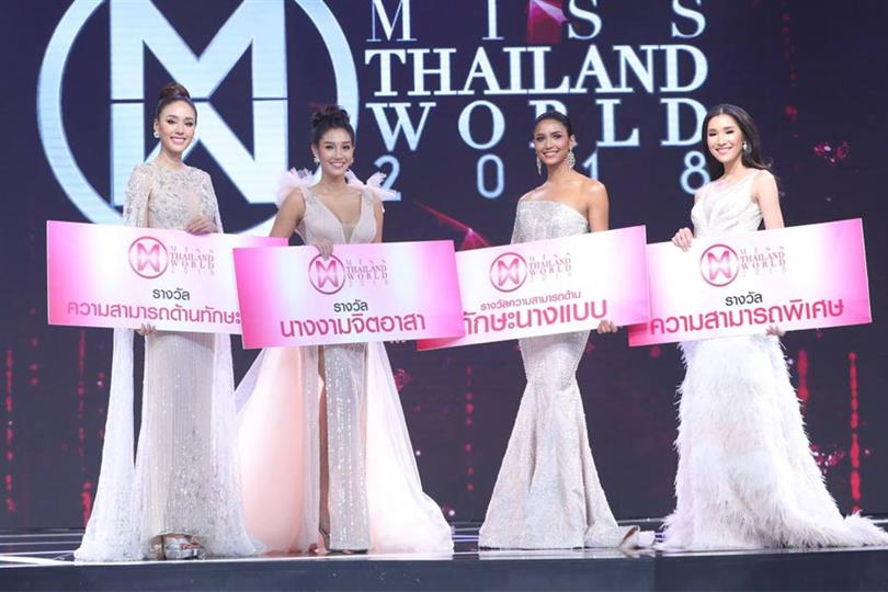 Miss Thailand World 2018 Preliminary Competition Results