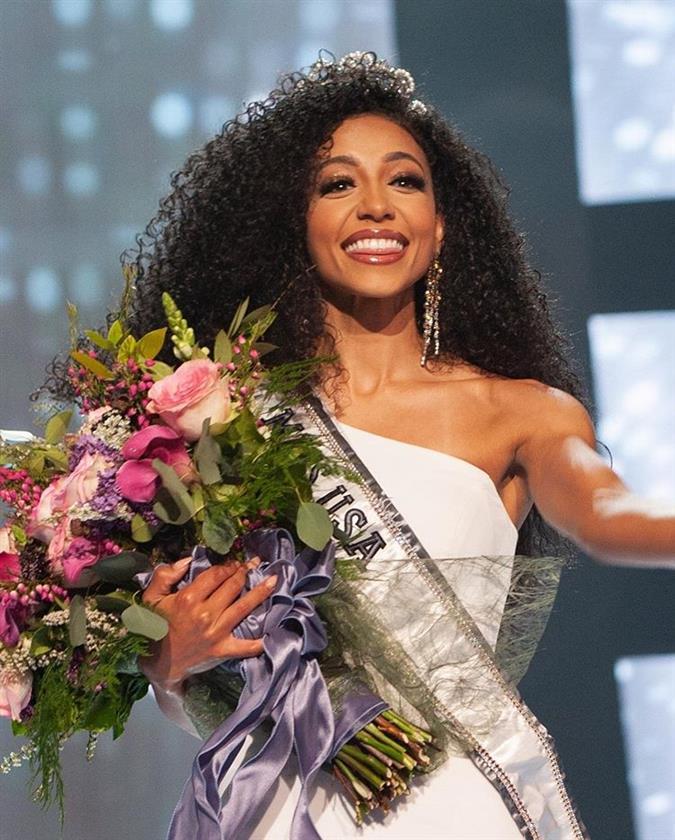 Miss USA 2019 Cheslie Kryst