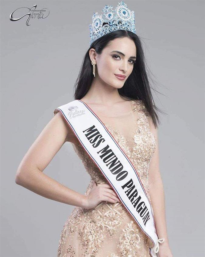 Maquenna Gaiarín Díaz Miss World Paraguay 2018, our favourite for Miss World 2018
