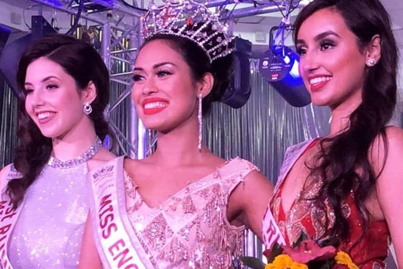 Bhasha Mukherjee crowned Miss England 2019